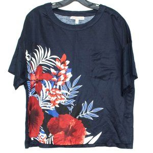 Banana Republic Top Heritage Collection Floral CJ